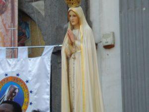Foto di Nostra Signora di Fatima scattata a Giugliano in Campania