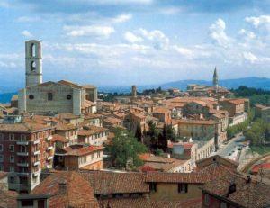 Flussi turistici a Perugia