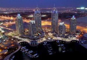 Panoramica di Dubai