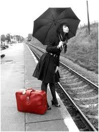 Treno in ritardo