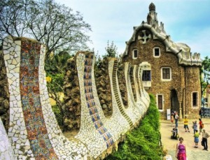 Barcellona-Parc-Guell-Gaudi