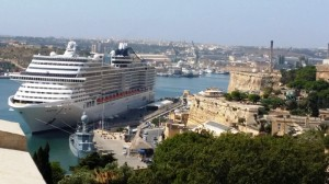 MSC Fantasia al porto La Valletta - Malta