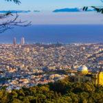 Barcellona: il quartiere del Montjuic e la Fontana Magica