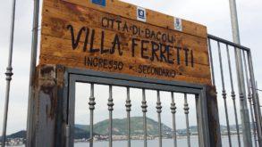Bacoli: apre il parco di Villa Ferretti
