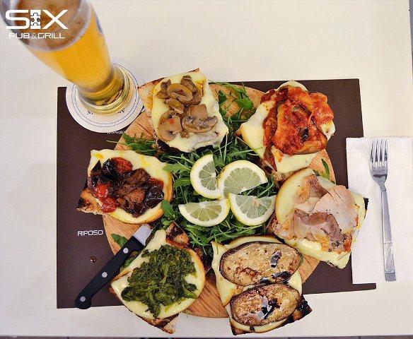 Napoli-Pub-Six-ad-Grill-Bruschetta six