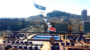 MSC Meraviglia a Napoli: Maiden Call evisita nave